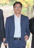 법원 들어서는 '관제시위' 허현준 전 청와대 행정관