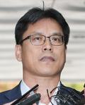 '화이트리스트' 허현준 前 행정관, 법정 출석