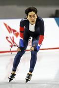 선수권 대회 男 5000m 1위 차지한 이승훈