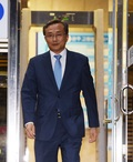 퇴근하는 유남석 헌법재판관 후보 지명자