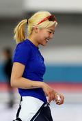 김보름 '1등 미소'