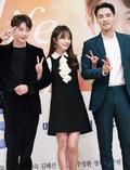 정유미, '현우, 강지섭 사이에서 꽃브이 만발'