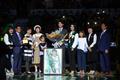 박지현 선수의 은퇴식 '가족들과 함께'