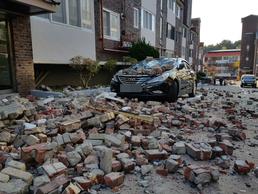 포항서 5.4 지진… 수능 연기까지