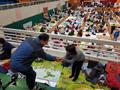 지진피해 주민대피소 찾은 이재오