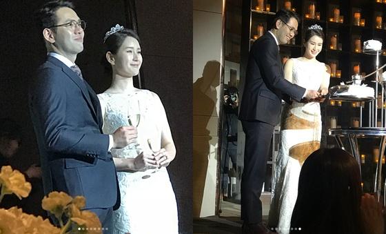 "[N1★샷] 기보배♥성민수 축하속 결혼…""신부, 너무 아름답다"""