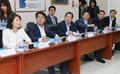 홍준표 자유한국당 대표, 베트남 LG생활건강 공장 방문