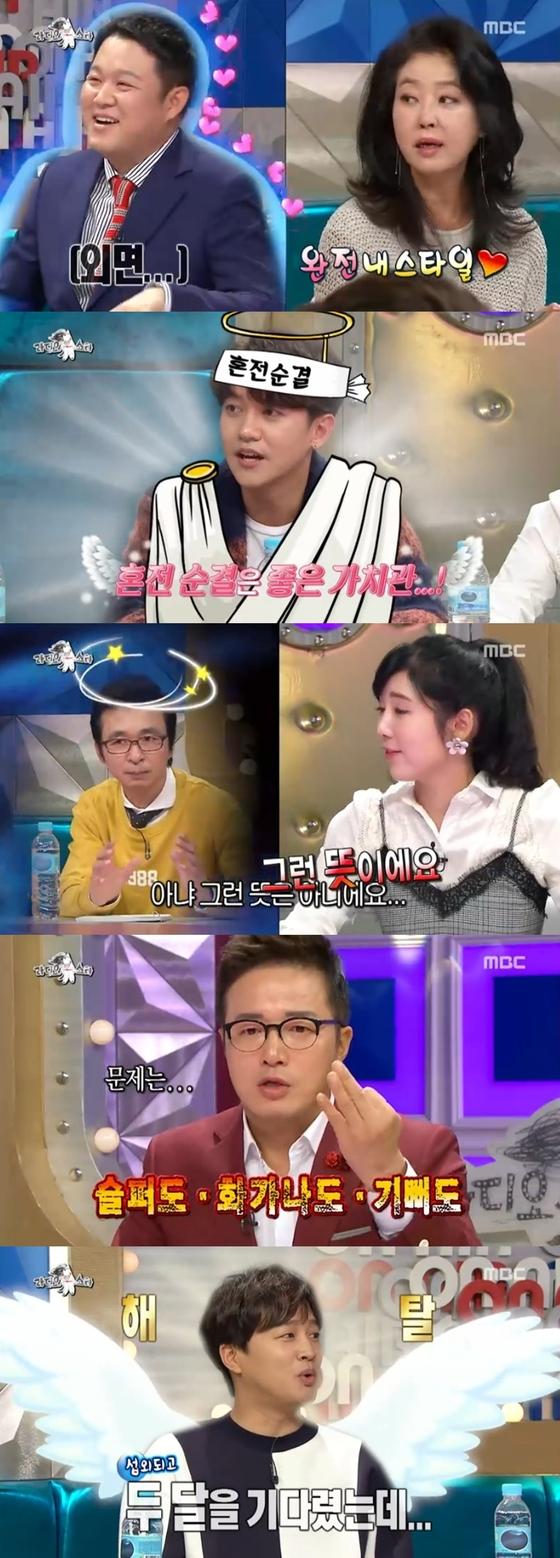 '라디오스타' 김부선, 눈물→김구라에 고백까지…하드캐리 활약