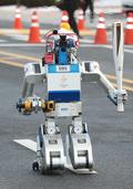 평창올림픽 성화봉송 주자로 나선 로봇 '휴보'