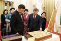 시진핑, 문재인 대통령에게 옥으로 만든 바둑판·바둑알 선물