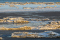 유빙으로 뒤덮힌 한강