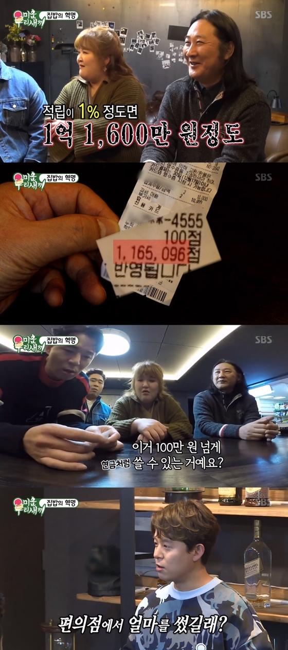 """'미우새' 김도균, 편의점 포인트 116만점 """"1억 정도 쓴 금액"""""""