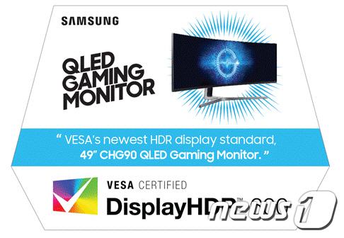 삼성 게이밍 모니터, VESA로부터 업계 최초 HDR 인증 받아