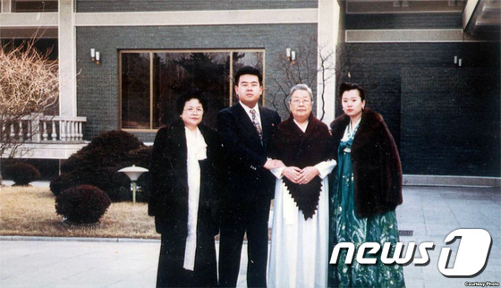 김정남 가족사진 공개