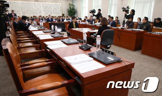 자유한국당 \'오늘도 빈자리\'
