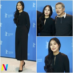 [패션 핫이슈] 김민희-홍상수, 불륜 논란 속 무거운 패션 'in 베를린...