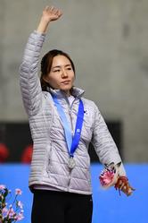 이상화, 여자 스피드스케이팅 500m 은메달