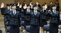 'ROTC 후보생의 첫 다짐'