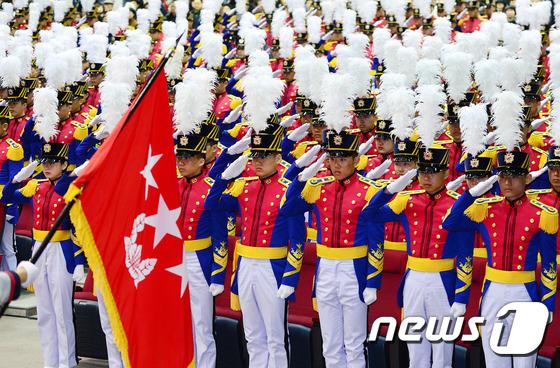 육군사관학교 77기 입학식