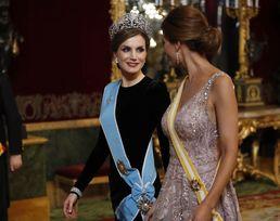 빛나는 미모의 스페인 왕비와 아르헨 대통령 부인