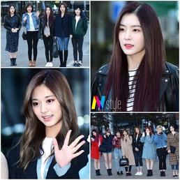 [스타 데일리룩] 레드벨벳vs트와이스, 걸그룹의 출근 패션