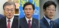 文 '선거인단' 집중…安·李, 토론대비 행보
