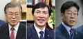 文-安-李 민주 빅3, 정책  ·민생 · 지역 행보