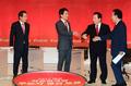 인사 나누는 자유한국당 대선 주자들