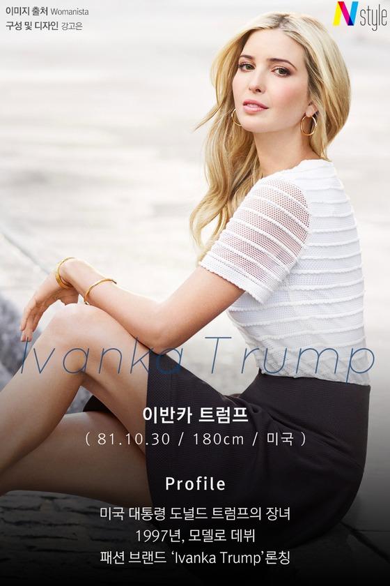 [N스타일 私心코너] '대통령의 딸' 이반카 트럼프, 패션까지 완벽