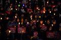 다시 모인 촛불시민들 '박근혜 전 대통령 구속하라'