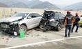 중부고속道 연풍터널인근 8중 추돌…8명 부상