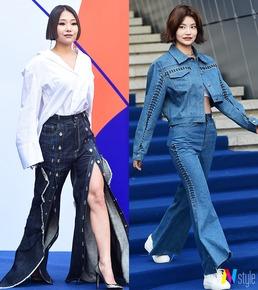 [스타패션 in SFW] 치타-강미나-효민, 오늘의 패션코드 '센 언니'