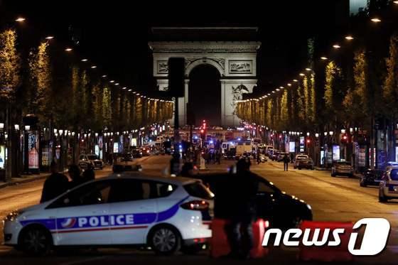 샹젤리제 거리 봉쇄
