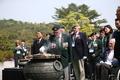 현충탑 찾은 유엔 참전용사들