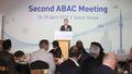 ABAC 대표단 환영만찬 인사말하는 허창수