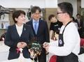 다문화 취업사관학교 방문한 강은희 장관