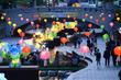 어둠을 밝히는 청계천 전통 등 축제
