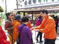 지지 호소하는 장성민 국민대통합당 후보