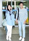 오상진-김소영, '신혼 여행에는 당연히 커플룩~'