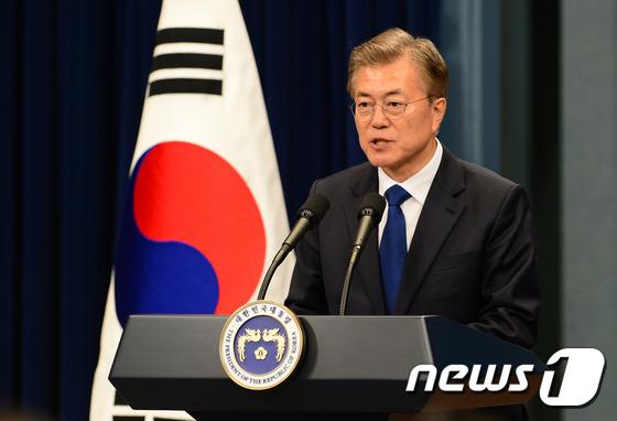 [전문] 문재인 대통령, 취임 100일 기자회견 모두발언