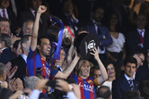 '메시 1골1도움' 바르셀로나, 스페인 국왕컵 3연패 달성