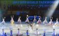 '세계태권도선수권대회 개막공연은 한국의 美로'