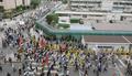 '한반도 사드 배치 반대한다'