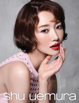 '여신 미모' 고준희, 4가지 립 화보 공개 with 슈에무라