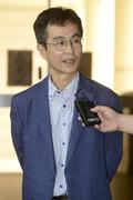 '박근혜·최순실 관계 폭로' 법정 출석하는 임현규