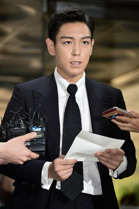 """[N1★종합] """"뼈저리게 후회""""…탑, 첫 공판 끝 '90도 인사+사과문'"""