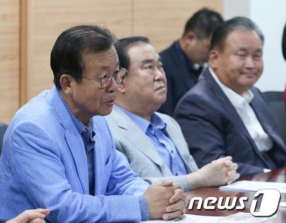 원혜영, 중진자문회의 인사말