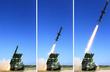 북한, 신형 미사일 시험발사 장면