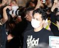 엑소 카이, '험난한 출국길'