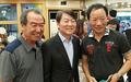 안철수 후보, 성남 4개지역 혁신간담회 참석